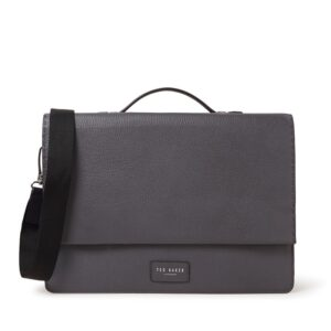 Ted Baker Housed Messenger Bag Grey-0