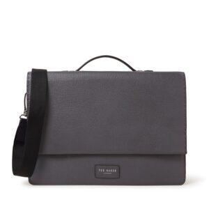 Ted Baker Housed Messenger Bag Grey-0