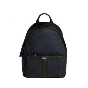 Ted Baker Wool Backpack Navy-0