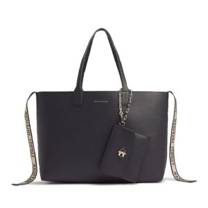 Tommy Hilfiger Turnlock Tote Sky Captain-0