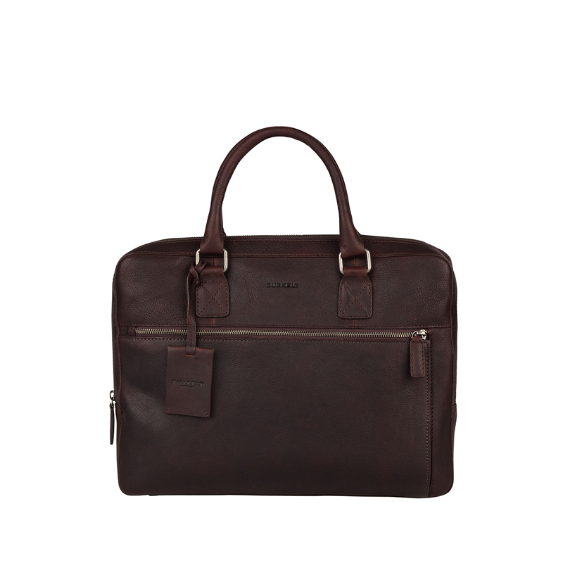 """Burkely Antique Avery Laptopbag 13,3"""" Brown-0"""