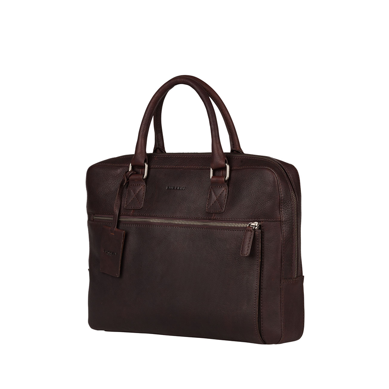 """Burkely Antique Avery Laptopbag 13,3"""" Brown-171438"""