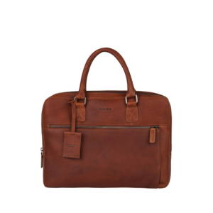 "Burkely Antique Avery Laptopbag 13,3"" Cognac-0"
