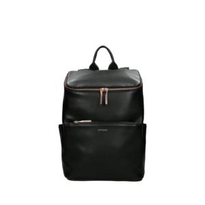 Matt & Nat Brave Loom Backpack Black Rose Gold-0