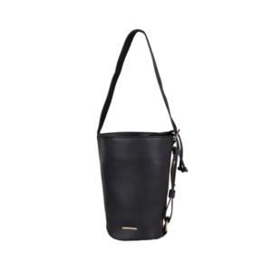Mister Miara Bucket Bag Laurel Black-0