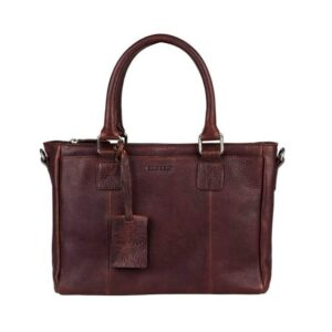 Burkely Antique Avery Handbag Dark Brown-0