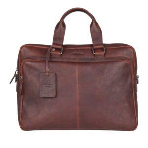 Burkely Antique Avery Workbag 15.6'' Dark Brown-0