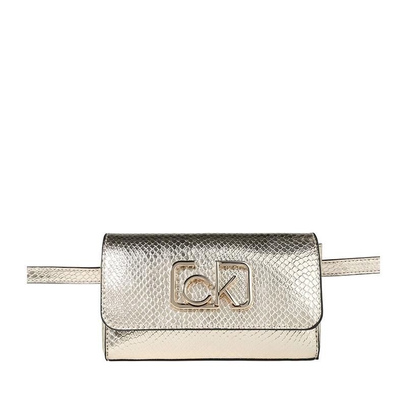 Calvin Klein CK Signature Beltbag SN Champagne Gold-0