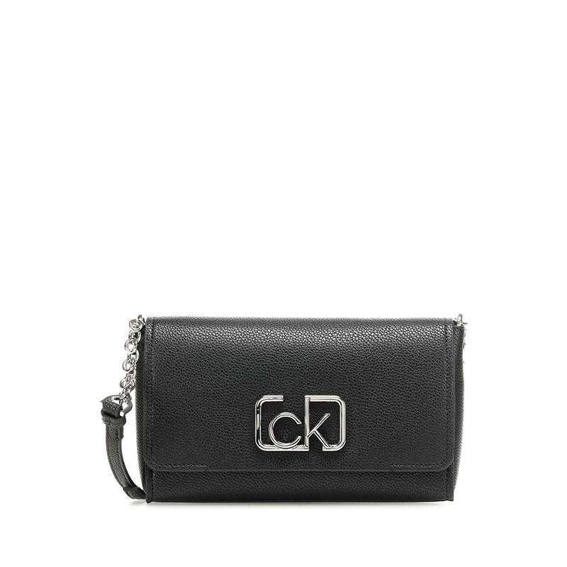 Calvin Klein CK Signature Flap Xbody Black-0