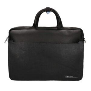Calvin Klein CK Slivered 2G Laptopbag Black-0