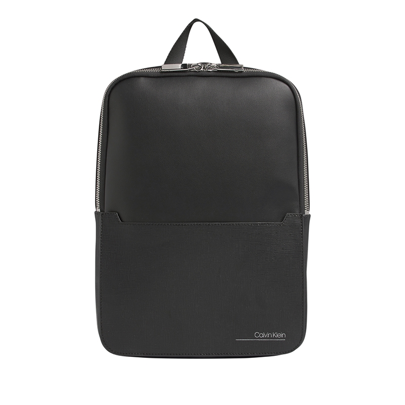 Calvin Klein CK Slivered Sleeve Backpack Black-0