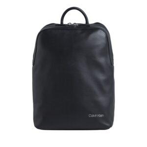 Calvin Klein Dressed Round Backpack Black-0