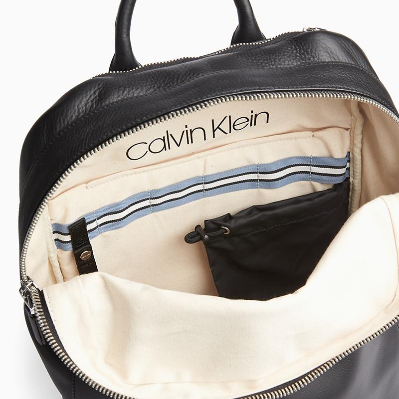 Calvin Klein Dressed Round Backpack Black-174422