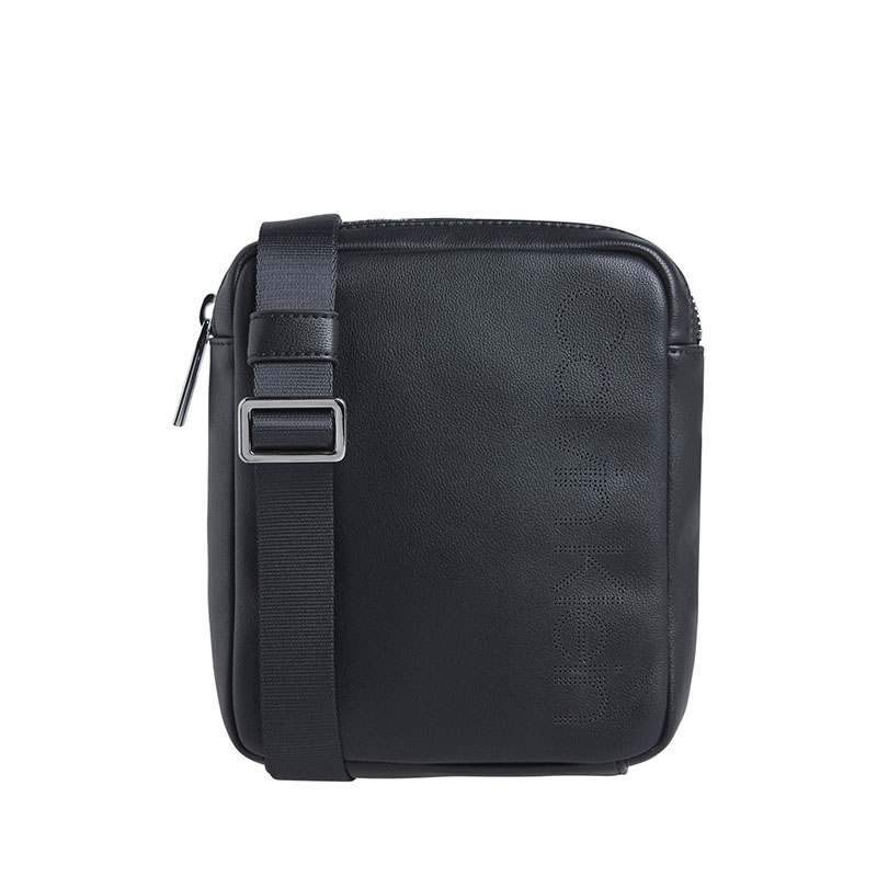 Calvin Klein Punched Mini Reporter Black-0