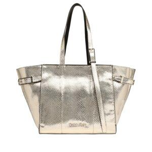 Calvin Klein Winged Med Shopper Gold-0