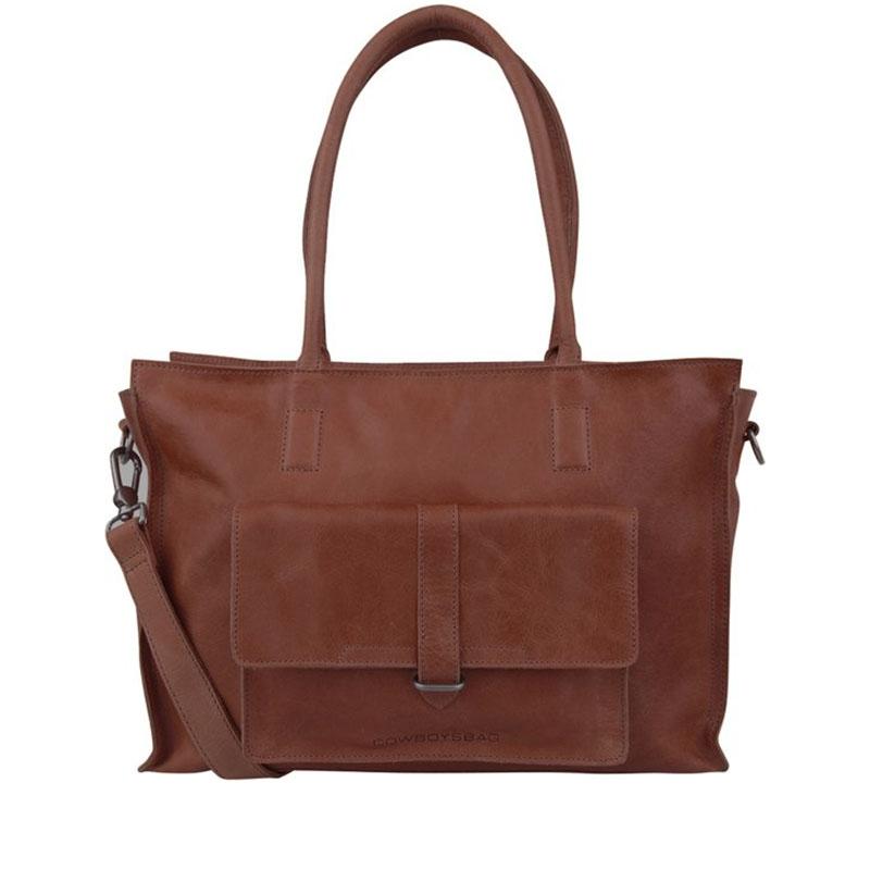 Cowboysbag Laptopbag Edgemore 15 Inch Cognac-0