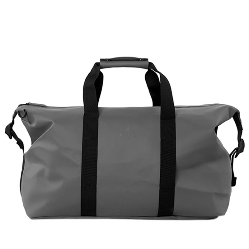 RAINS Weekend Duffel Bag Charcoal-0