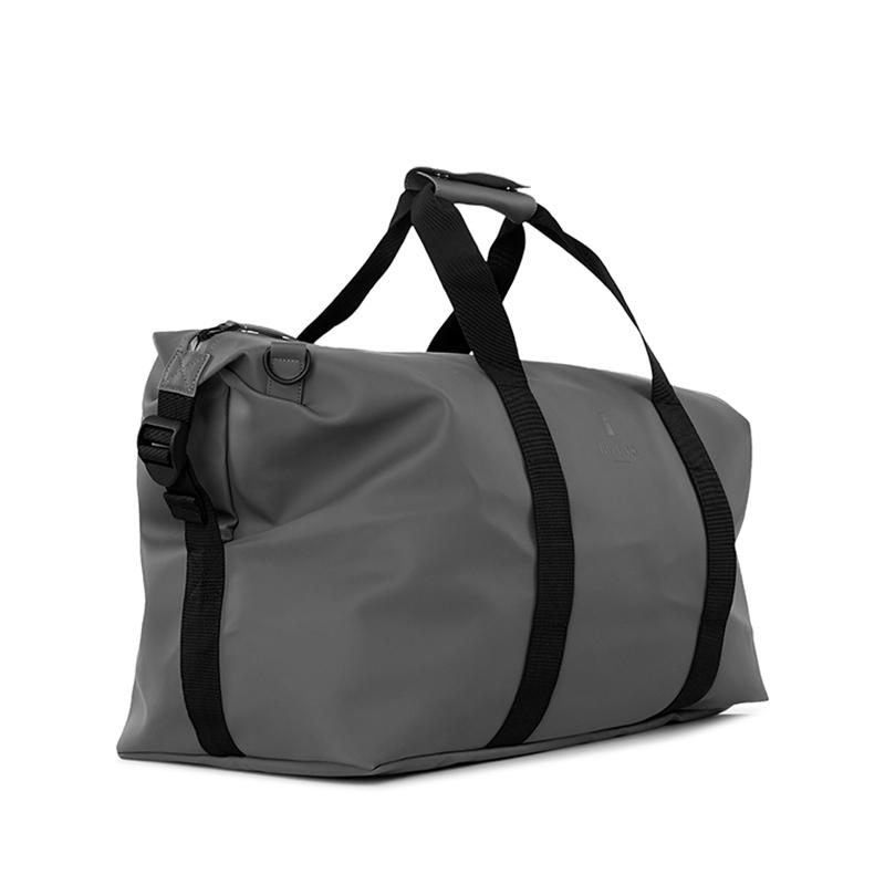 RAINS Weekend Duffel Bag Charcoal-172252