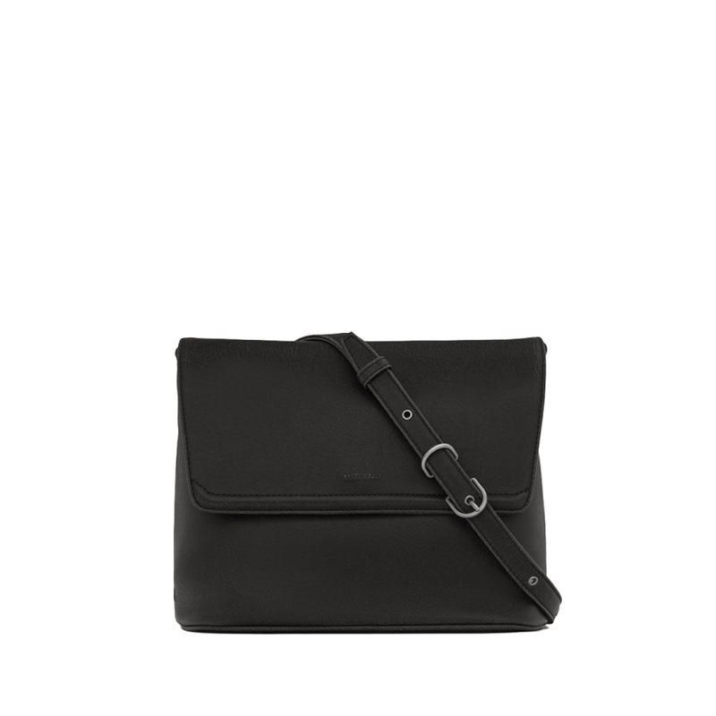 Matt & Nat Reiti Vintage Crossbody Bag Black-0