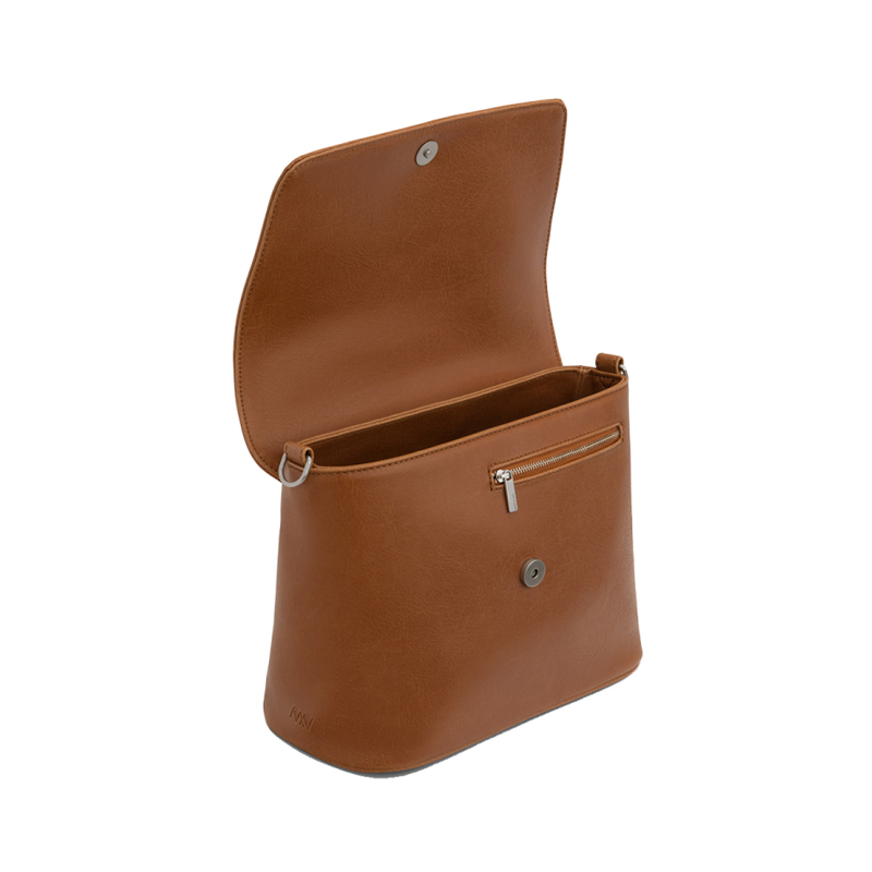 Matt & Nat Reiti Vintage Crossbody Bag Chili Matte Nickel-172448
