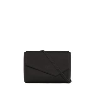 Matt & Nat Riya Vintage Clutch Bag Black-0