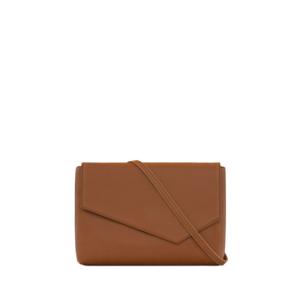 Matt & Nat Riya Vintage Clutch Bag Chili Matte Nickel-0