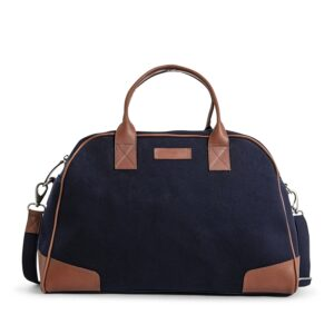 Still Nordic Just Weekendbag Navy/Cognac-0