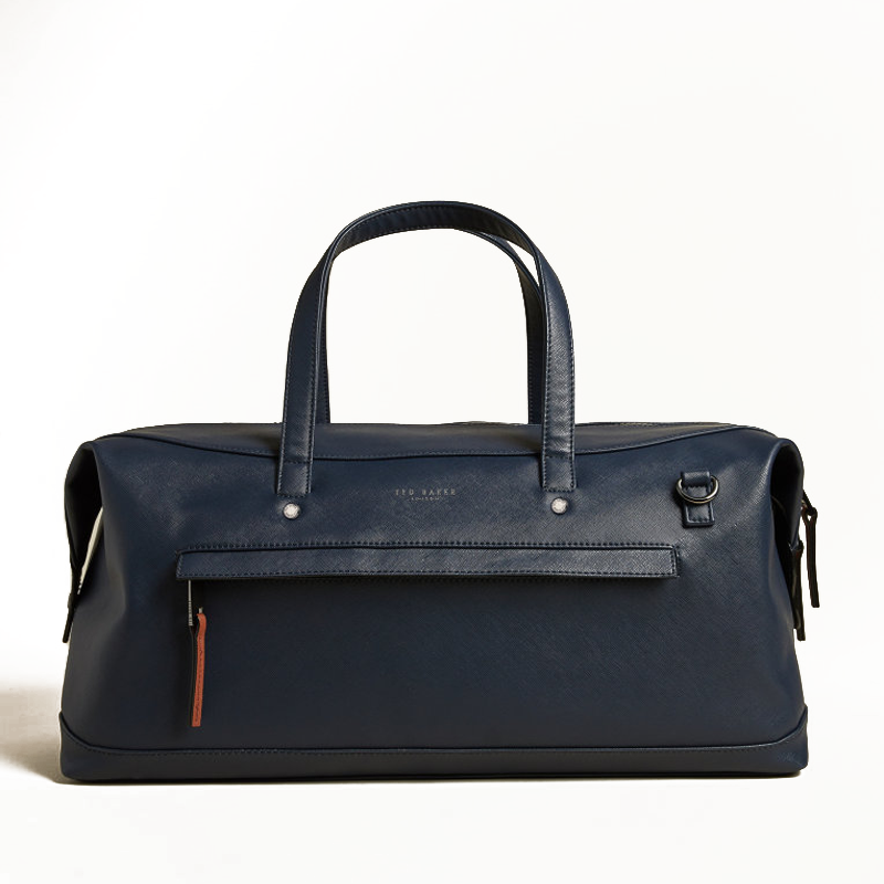 Ted Baker Patche Weekendbag Navy-0