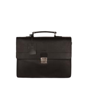 Burkely Vintage Dean Briefcase Black-0