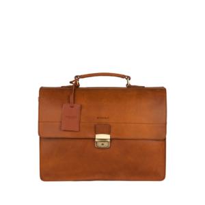 Burkely Vintage Dean Briefcase Cognac-0
