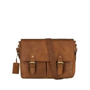 Burkely Vintage Glenn Messenger Bag Cognac-0