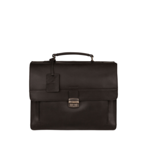 Burkely Vintage Scott Briefcase Black-0