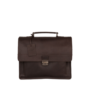 Burkely Vintage Scott Briefcase Brown-0
