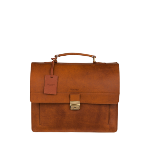 Burkely Vintage Scott Briefcase Cognac-0