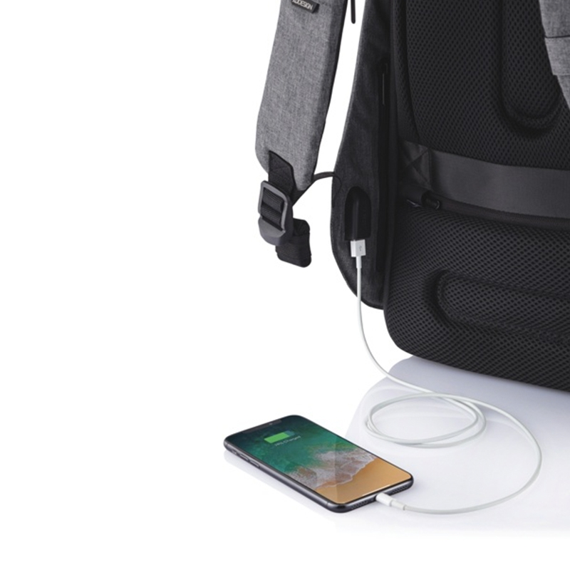 XD Design Bobby Hero Regular Anti-theft Backpack Grey-172846