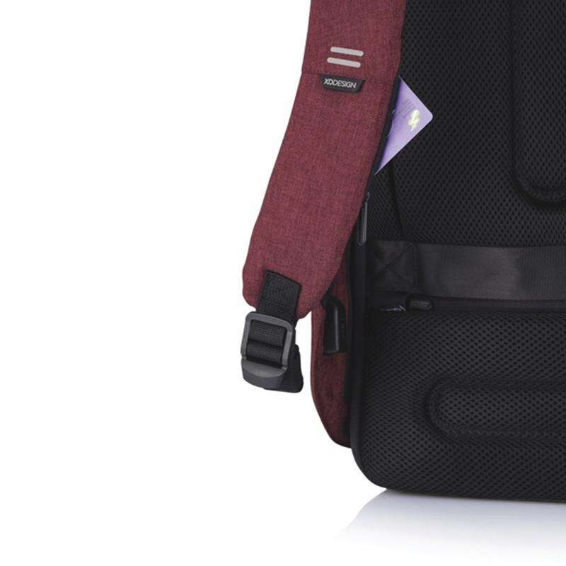 XD Design Bobby Hero Regular Anti-theft Backpack Red-172855