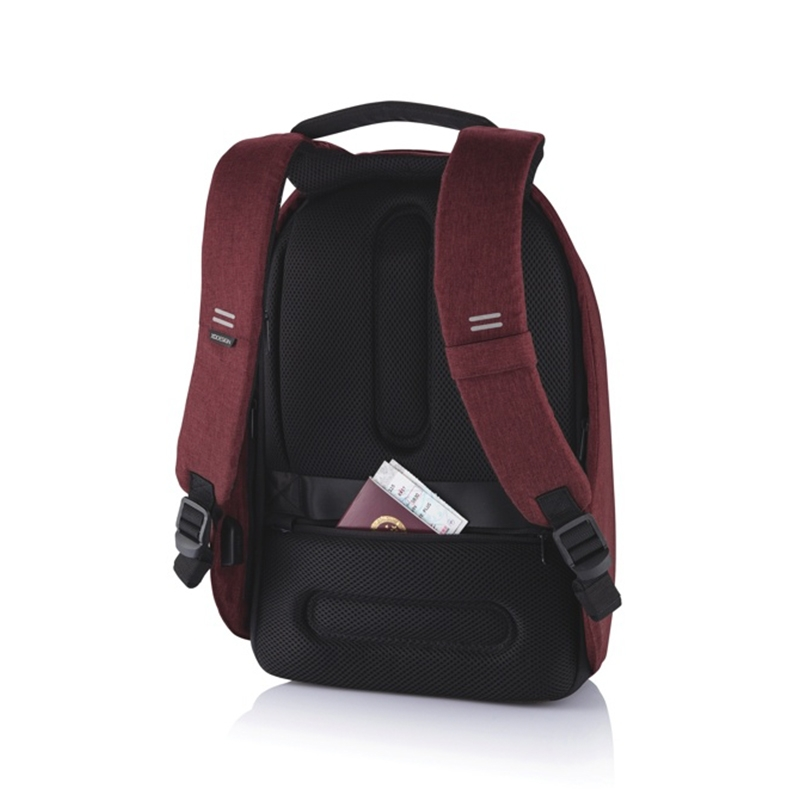 XD Design Bobby Hero Small Anti-theft Backpack Red-172894