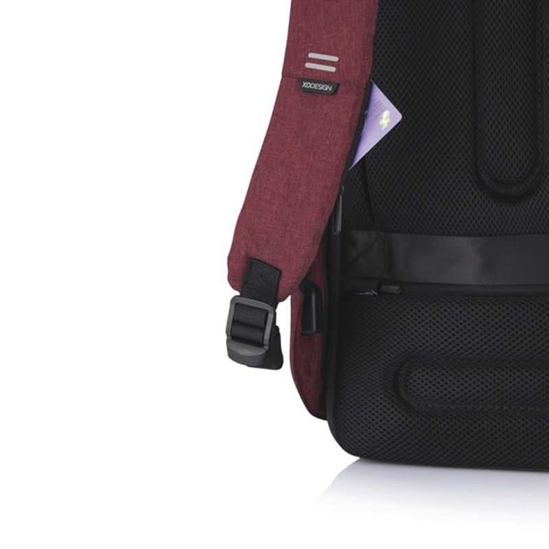 XD Design Bobby Hero Small Anti-theft Backpack Red-172896