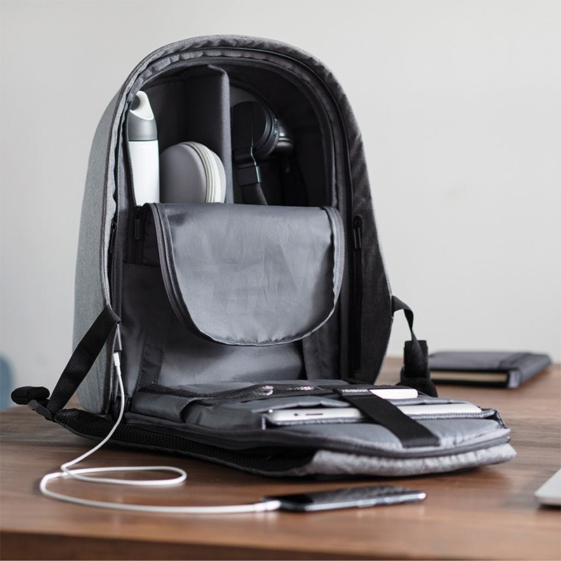 XD Design Bobby Hero XL Anti-theft Backpack Grey-172948