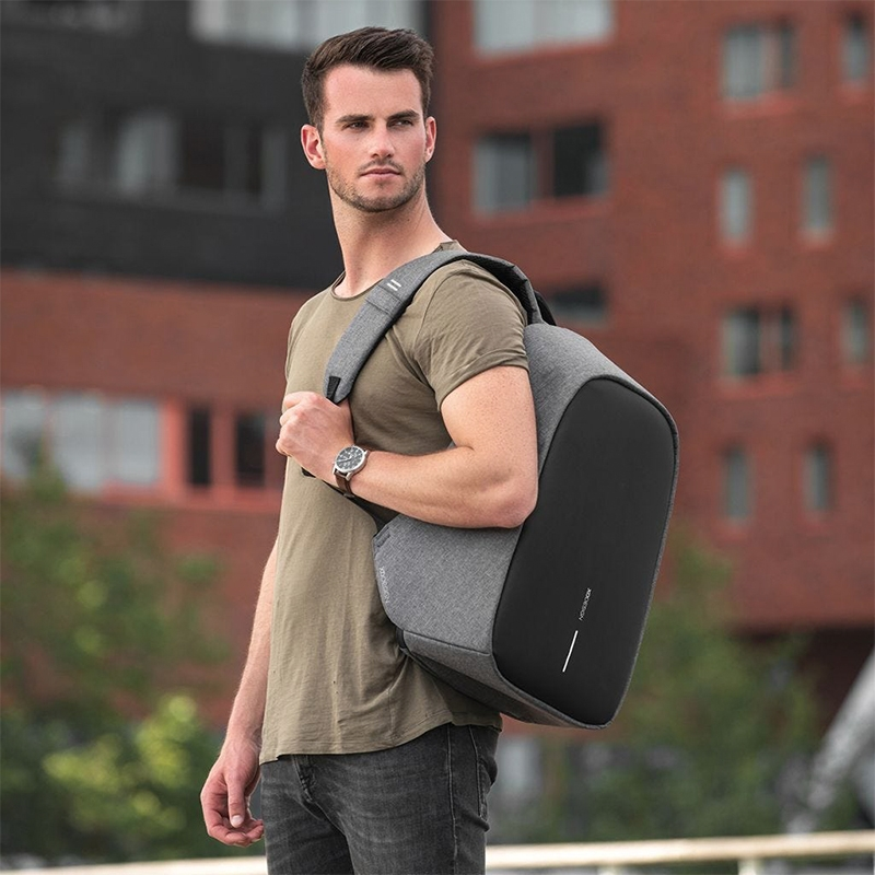 XD Design Bobby Hero XL Anti-theft Backpack Grey-172949