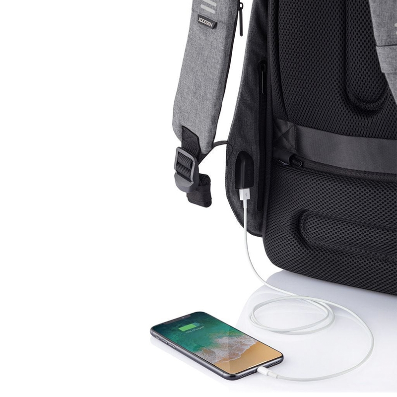 XD Design Bobby Hero XL Anti-theft Backpack Grey-172946