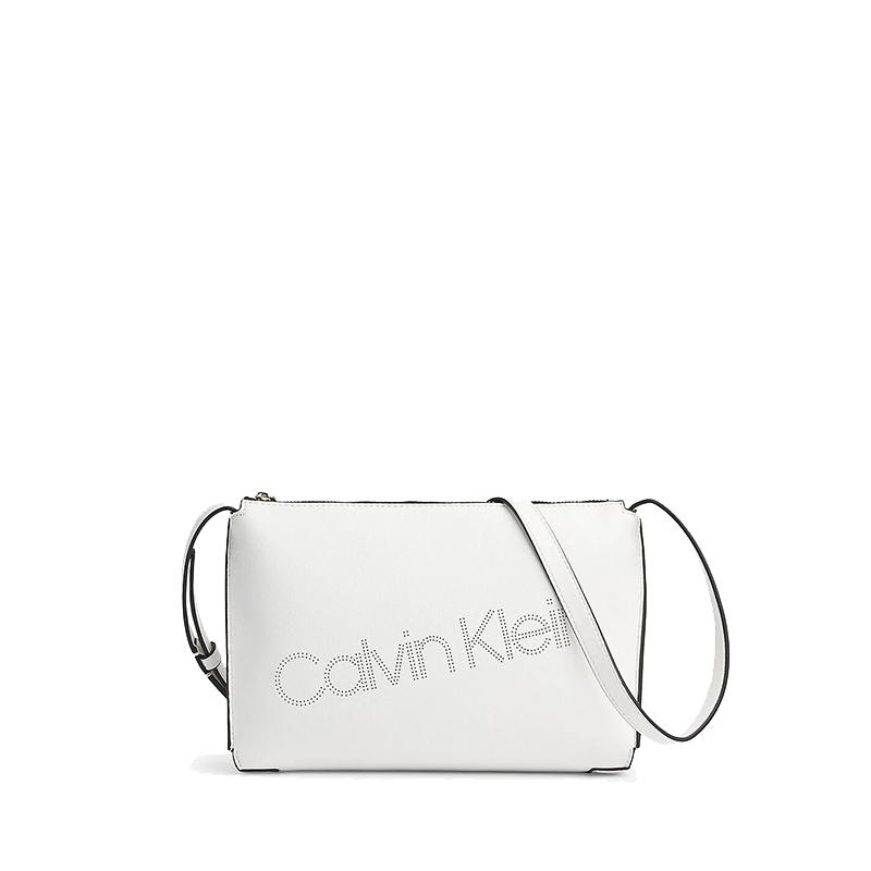 Calvin Klein Punched EW Xbody White-0