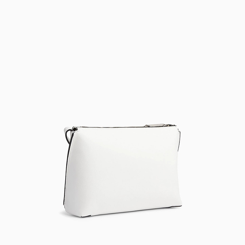 Calvin Klein Punched EW Xbody White-174451