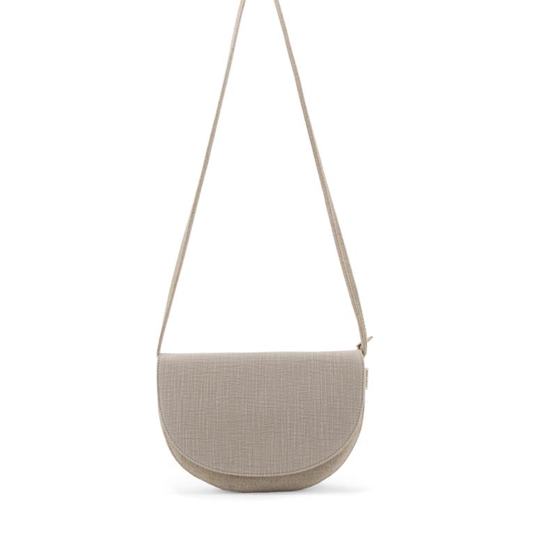 Monk & Anna Soma Half Moon Bag Linen-0