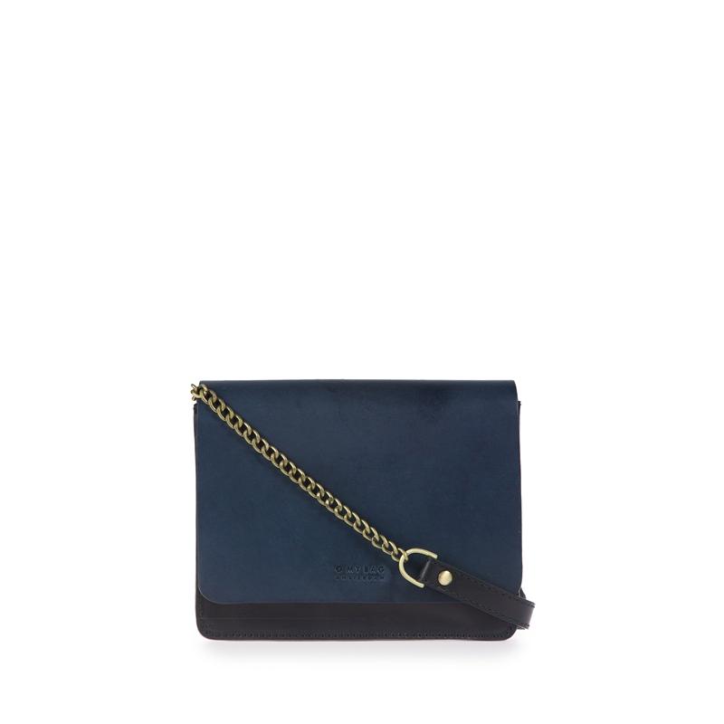 O My Bag Audrey Mini Eco Classic Black/Navy-0