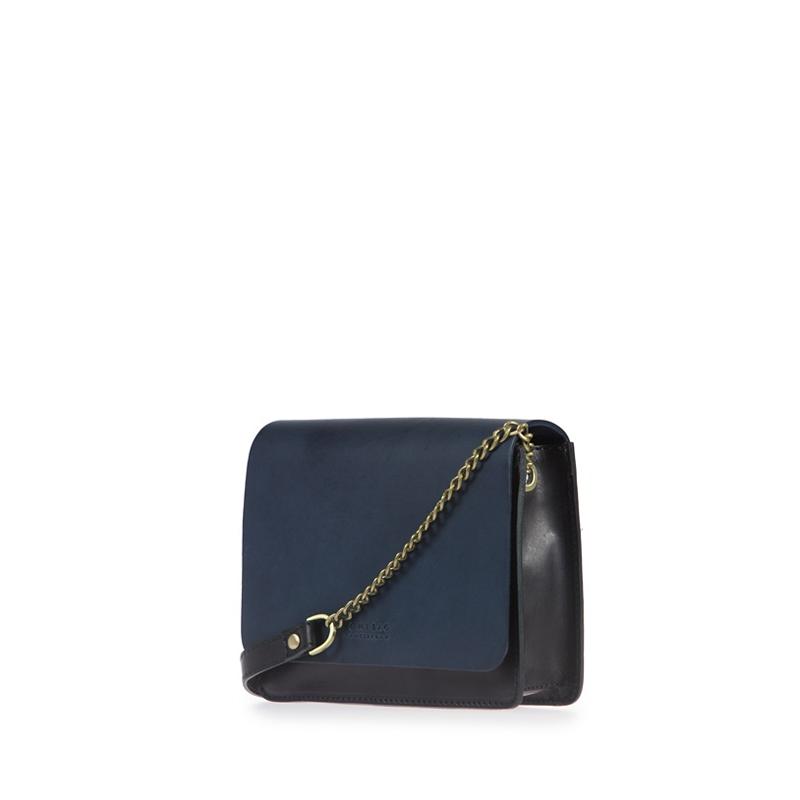 O My Bag Audrey Mini Eco Classic Black/Navy-174551