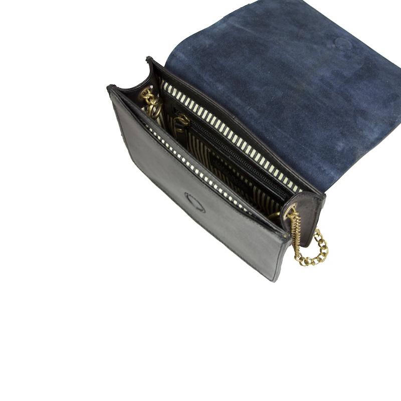 O My Bag Audrey Mini Eco Classic Black/Navy-174552