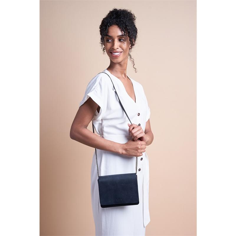 O My Bag Audrey Mini Eco Classic Black/Navy-174553