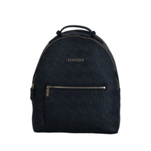 Tommy Hilfiger Iconic Tommy Backpack Navy Embossed Monogram