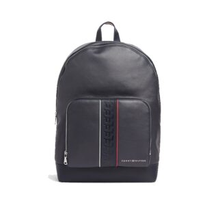 Tommy Hilfiger Leather Backpack Stripe Sky Captain-0